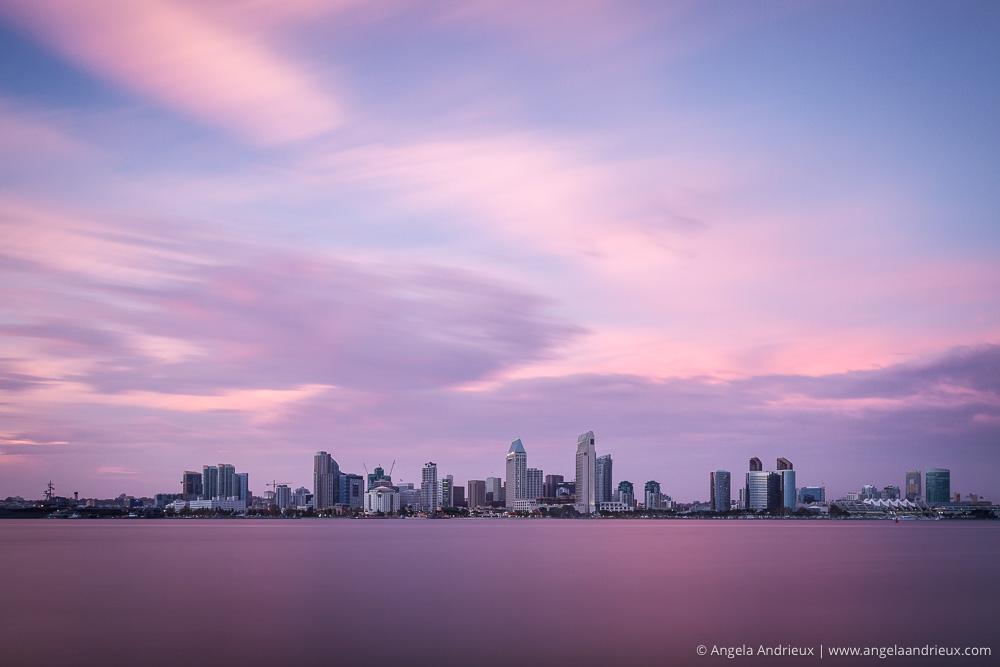 Dreamy San Diego Skyline Sunset | Bayview Park | Coronado | CA