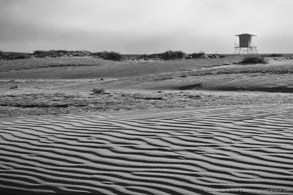 San Ripples and Lifeguard Stand | Morro Strand State Beach