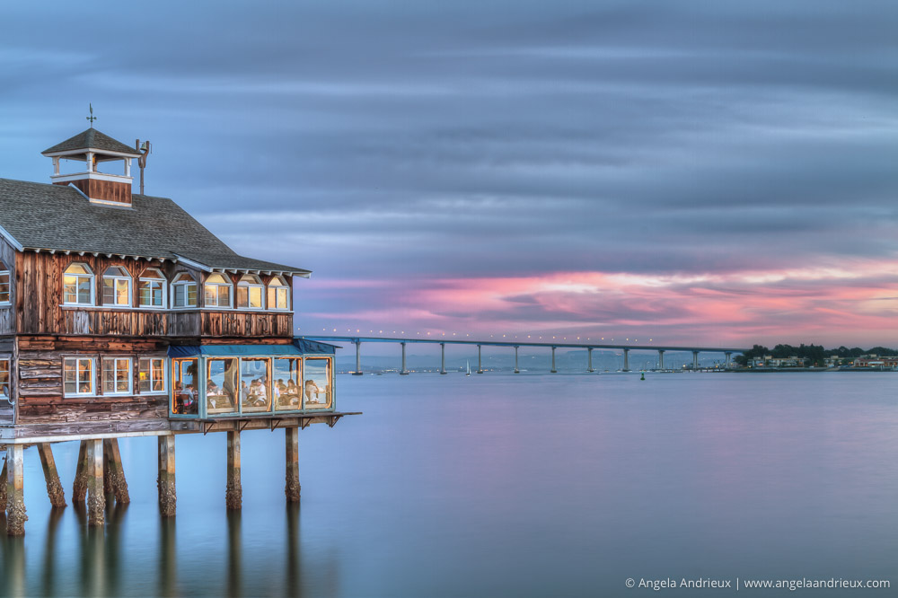 Simply Sublime | Pier Cafe | Seaport Village | San Diego, CA