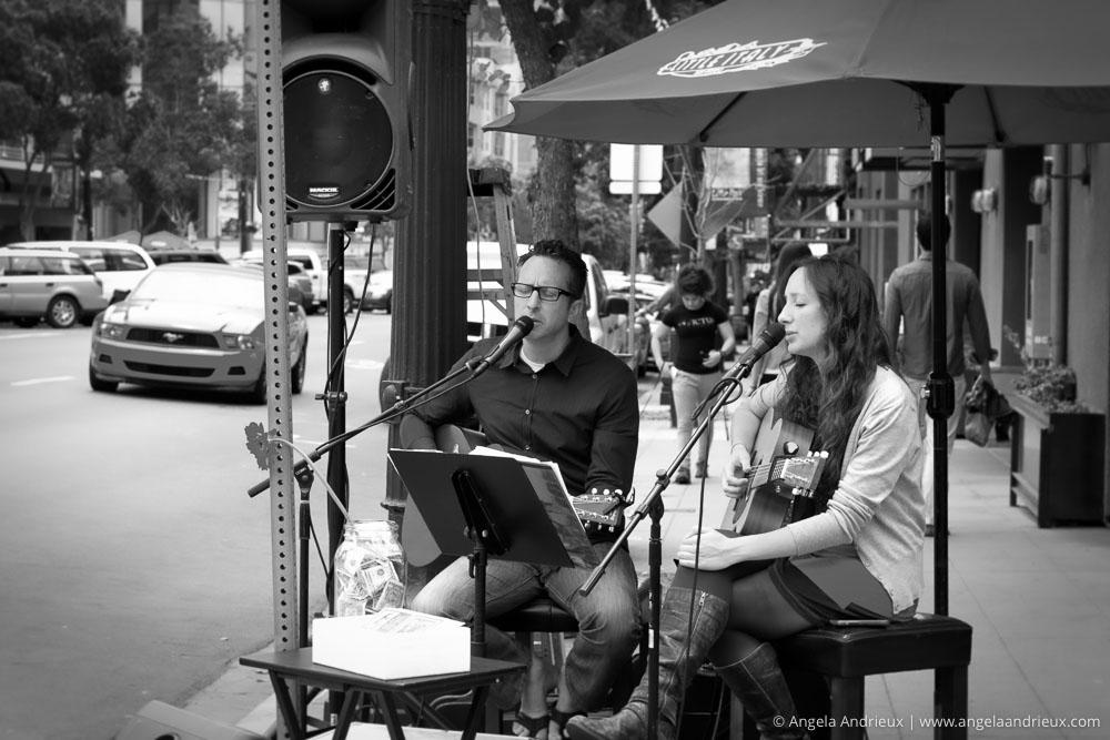 Musicians | Street Photography | Little Italy Mercado | San Diego, CA