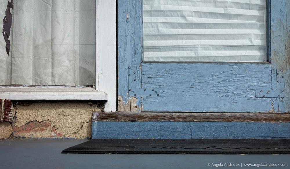 Urban Decay | Peeling Paint on a Blue Door | Ocean Beach | San Diego, CA