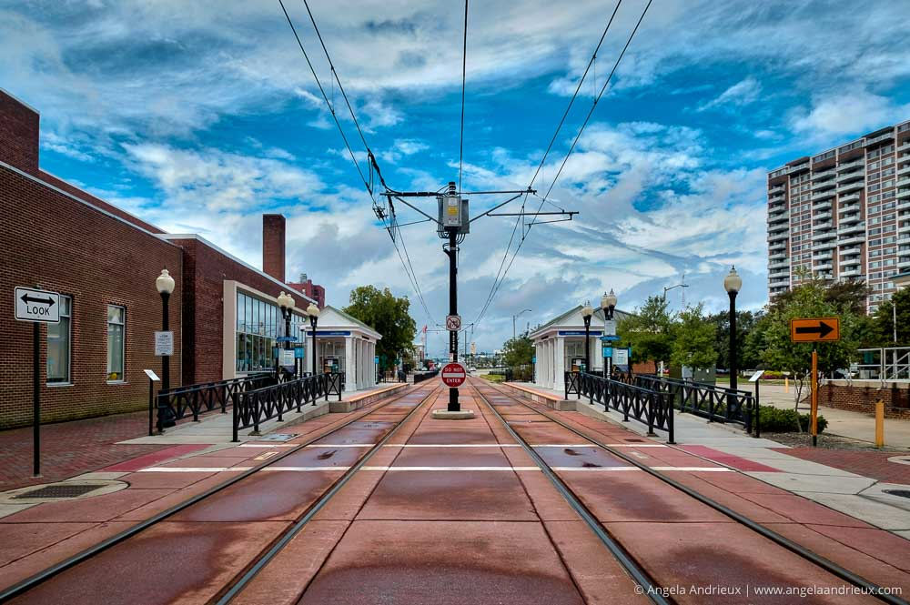 Norfolk, VA Light Rail Tracks | Worldwide Photo Walk