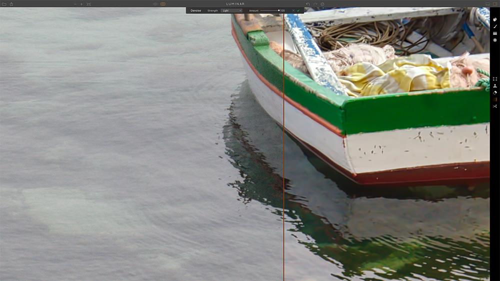 Luminar Screenshot | Noise Reduction Tool