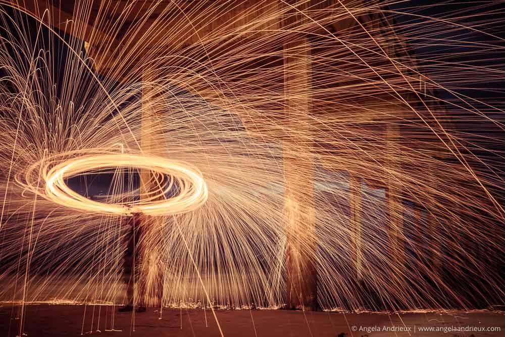 Steel Wool | Scripps Pier | La Jolla, CA