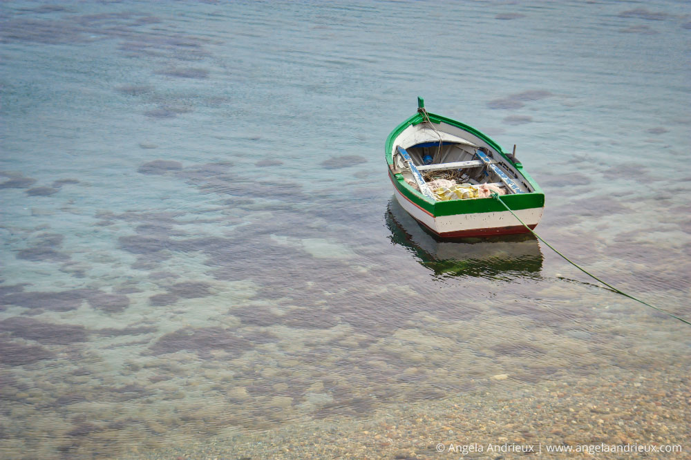 Fishing Boat in Trapani, Siciily | RAW photo After processing in Luminar
