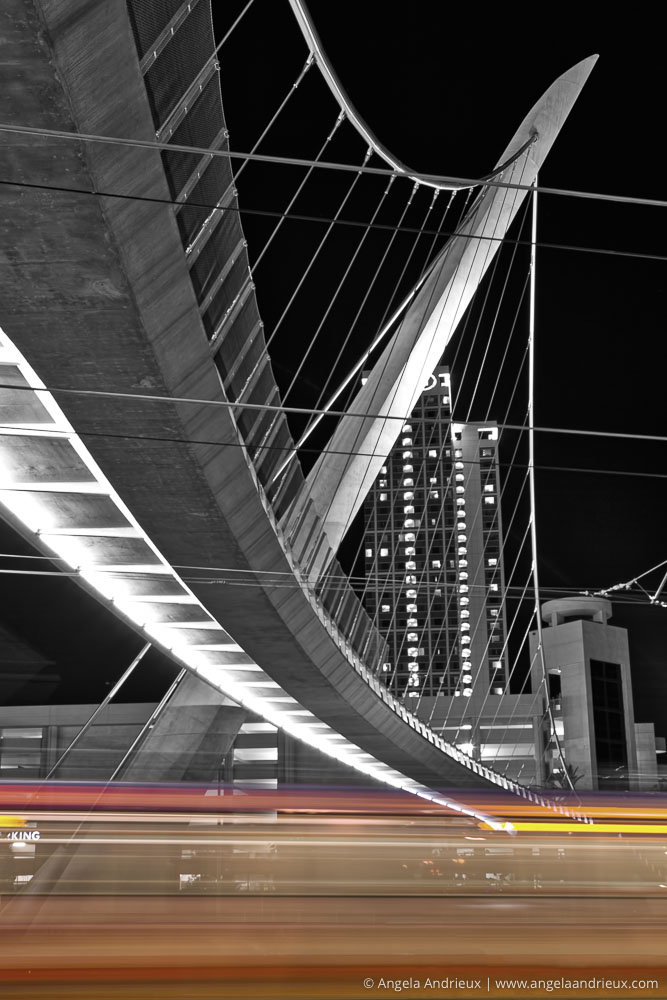 Vivid Transport | Harbor Drive Pedestrian Bridge | San Diego, CA