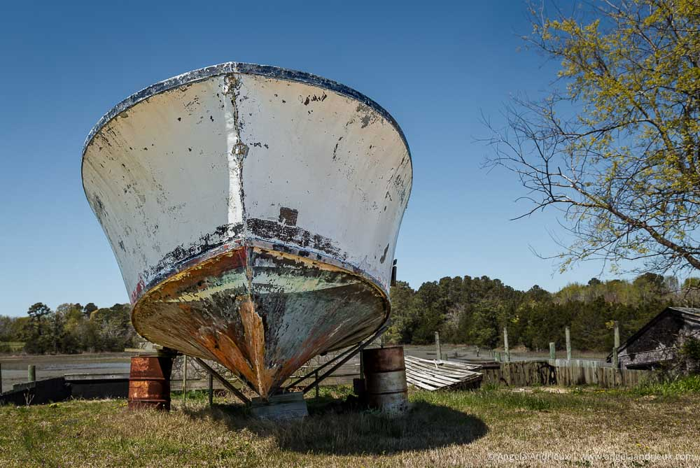 Abandoned Fishing Boat | Eastern Shore | Willis Wharf, VA