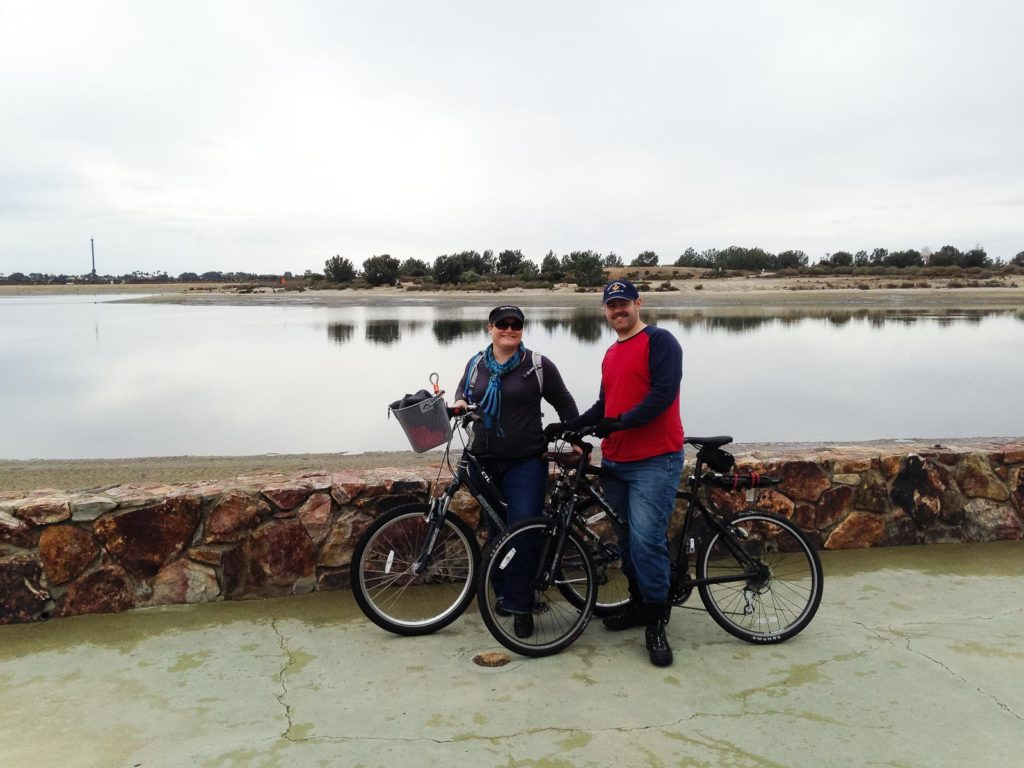Me and Les | Bicycling around Mission Bay | San Diego, CA