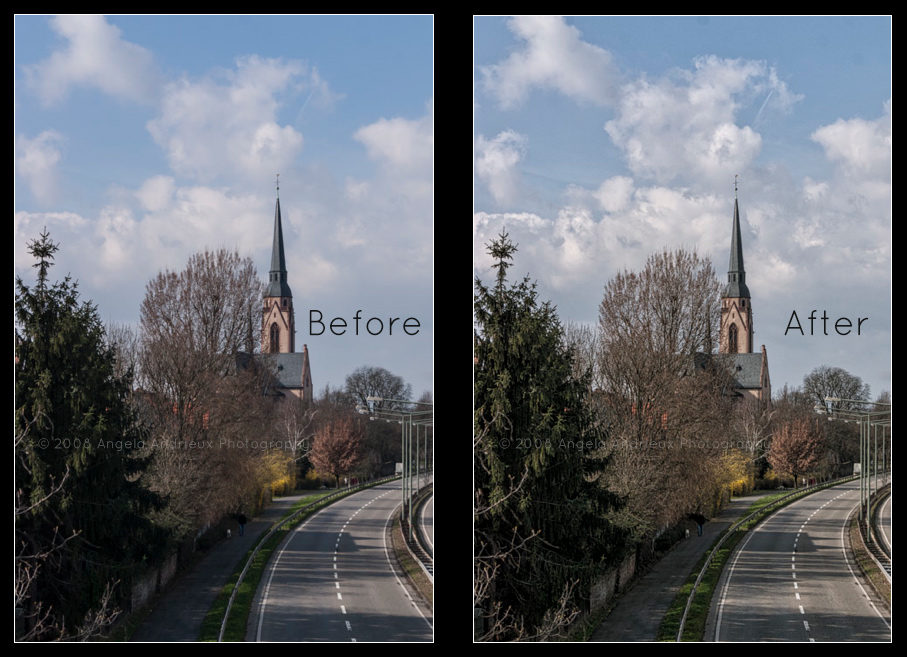 Frankfurt, Germany | Before and After Maphun's Intensify Pro