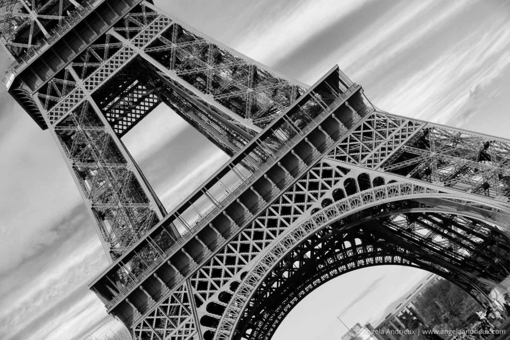 Eiffel Tower in black and white | Paris | France