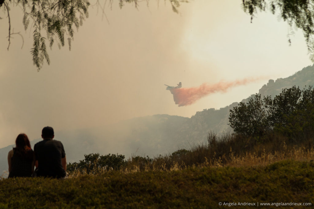 Heros | Mission Trails Brush Fire | San Diego, CA