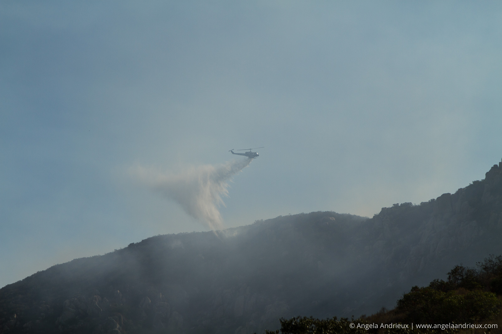 Heros | Mission Trails Brush Fire | San Diego, CA