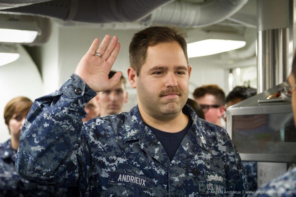 Les' Reenlistment | USS Sterett DDG 104