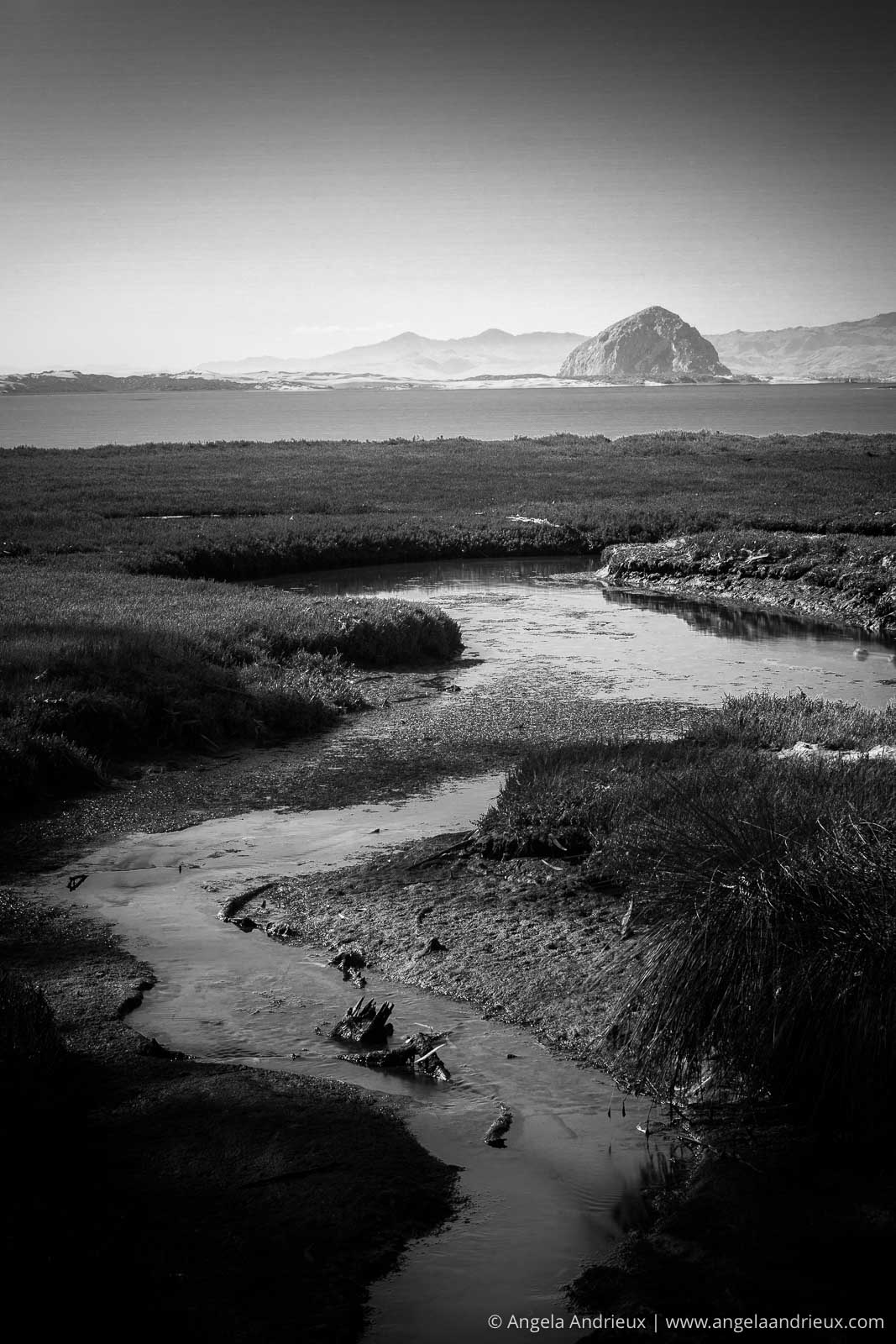 Morro Rock from Sweet Springs | Los Osos, CA