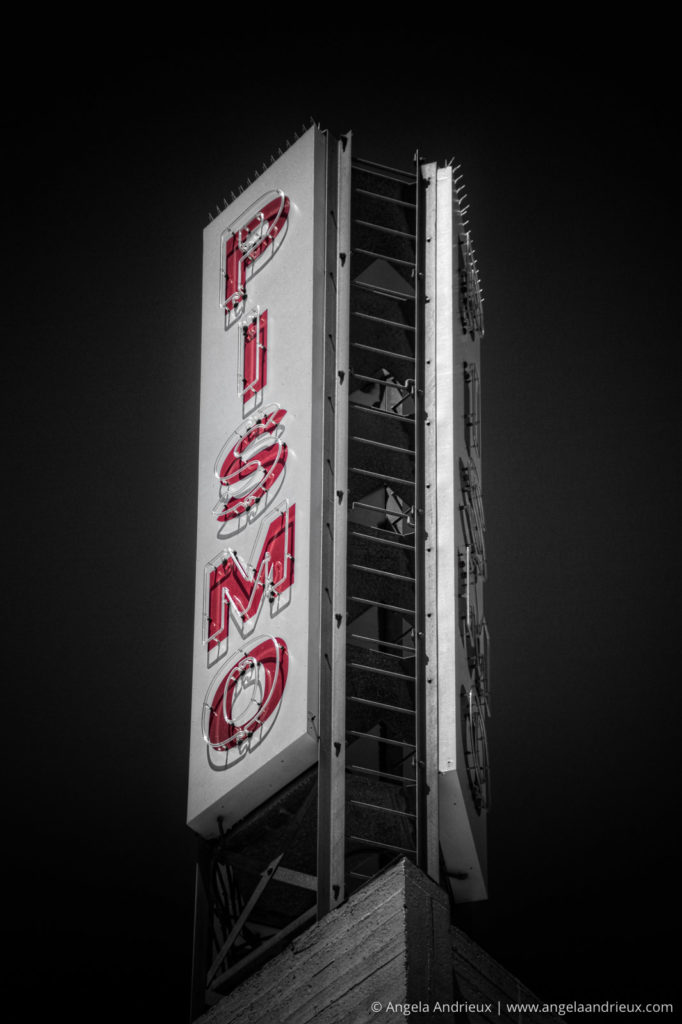 Pismo Beach Signs | Street Photography