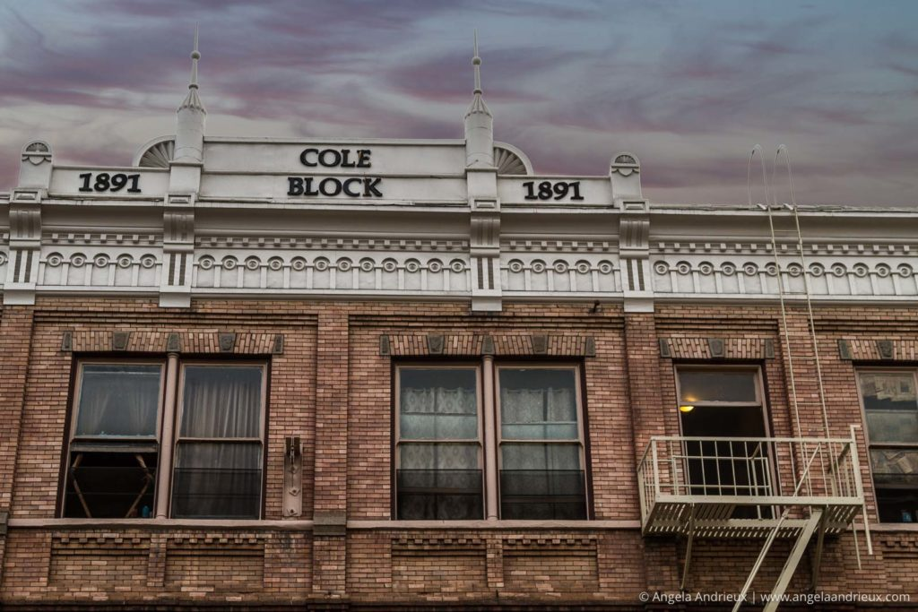 Cole Block Building | Gaslamp Quarter | San Diego, CA with Sky Replacement using Topaz ReMask