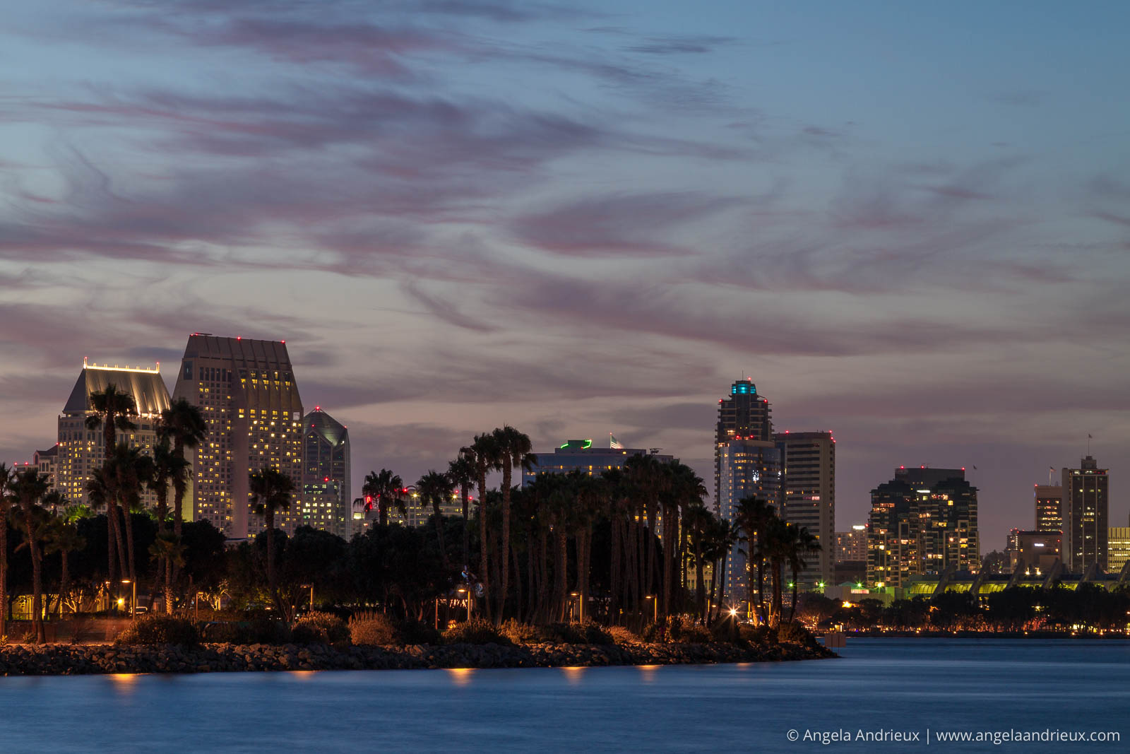 Sunset Skyline from Coronado | San Diego, CA