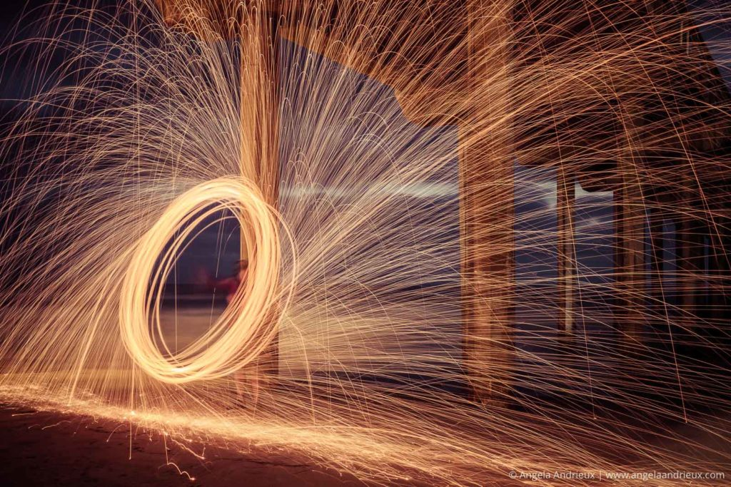 Steel Wool Photography | Scripps Pier | La Jolla, CA