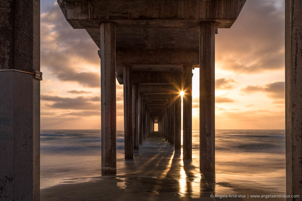 Sunset at Scripps Pier | La Jolla, CA