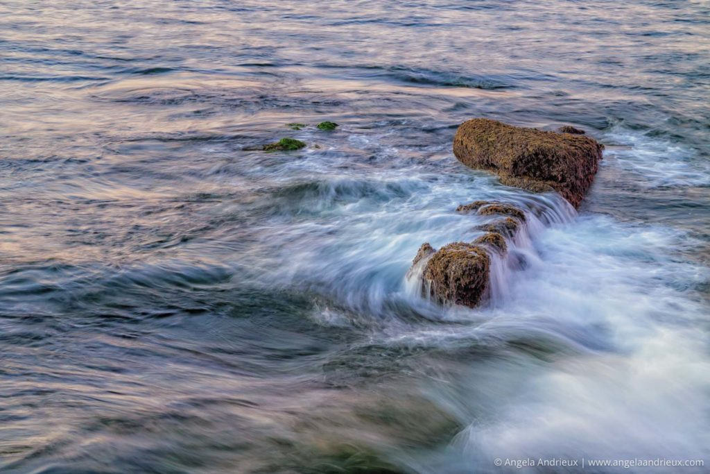 Swirling Waves | Sunset Cliffs | San Diego, CA