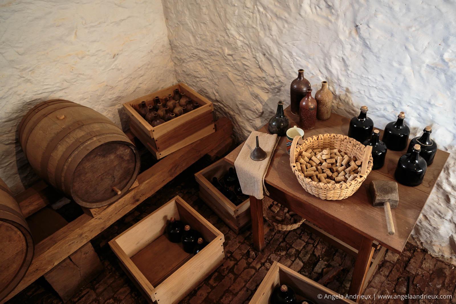 Wine Cellar | Monticello | Charlottesville, VA
