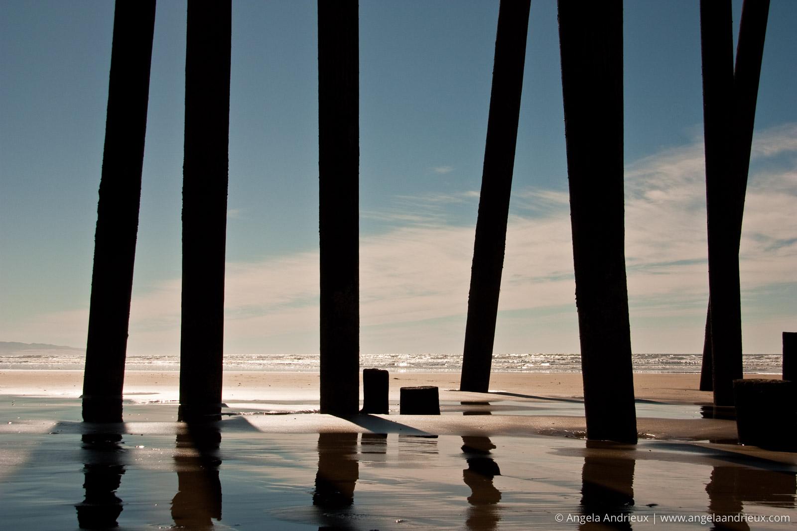 Under the Pismo Pier | Pismo Beach, CA