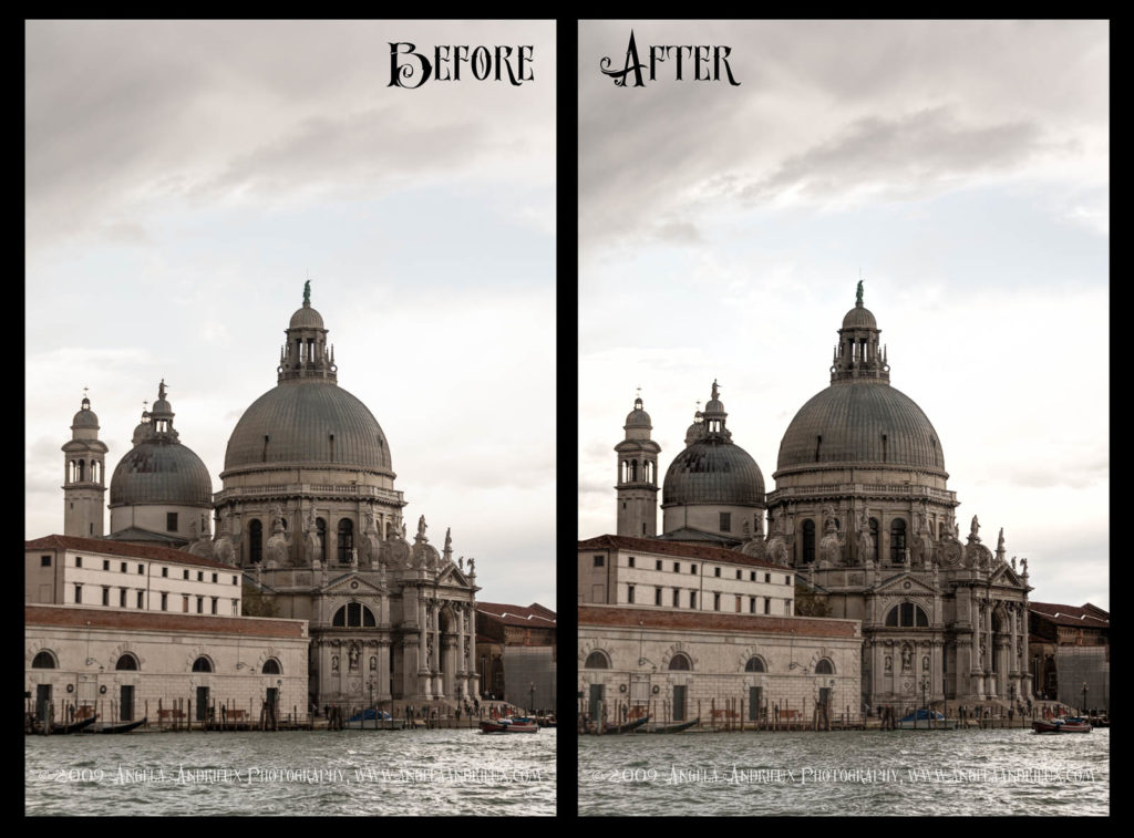 Venice | Italy | Before and After Topaz Clarity