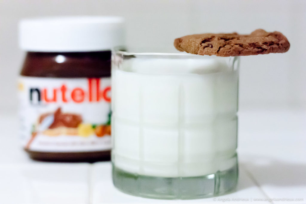 World Nutella Day Cookie and Milk