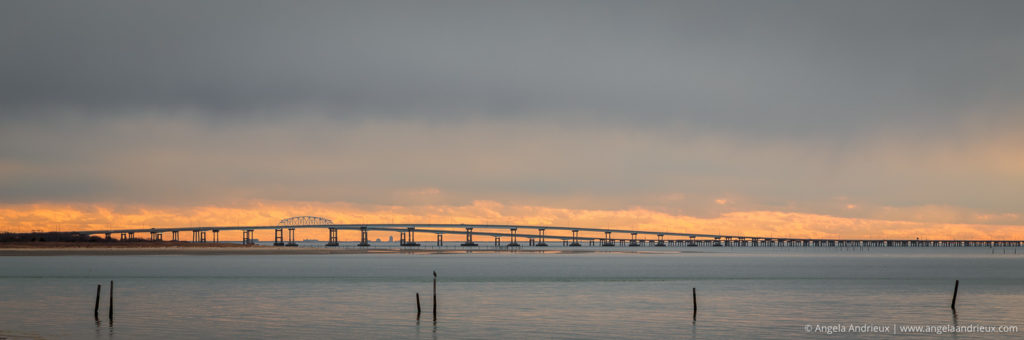 Chesapeake Bay Bridge Sunset