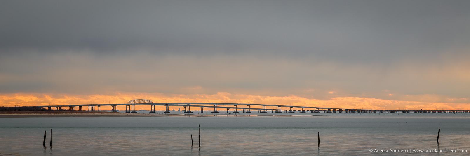 Chesapeake Bay Bridge Sunset