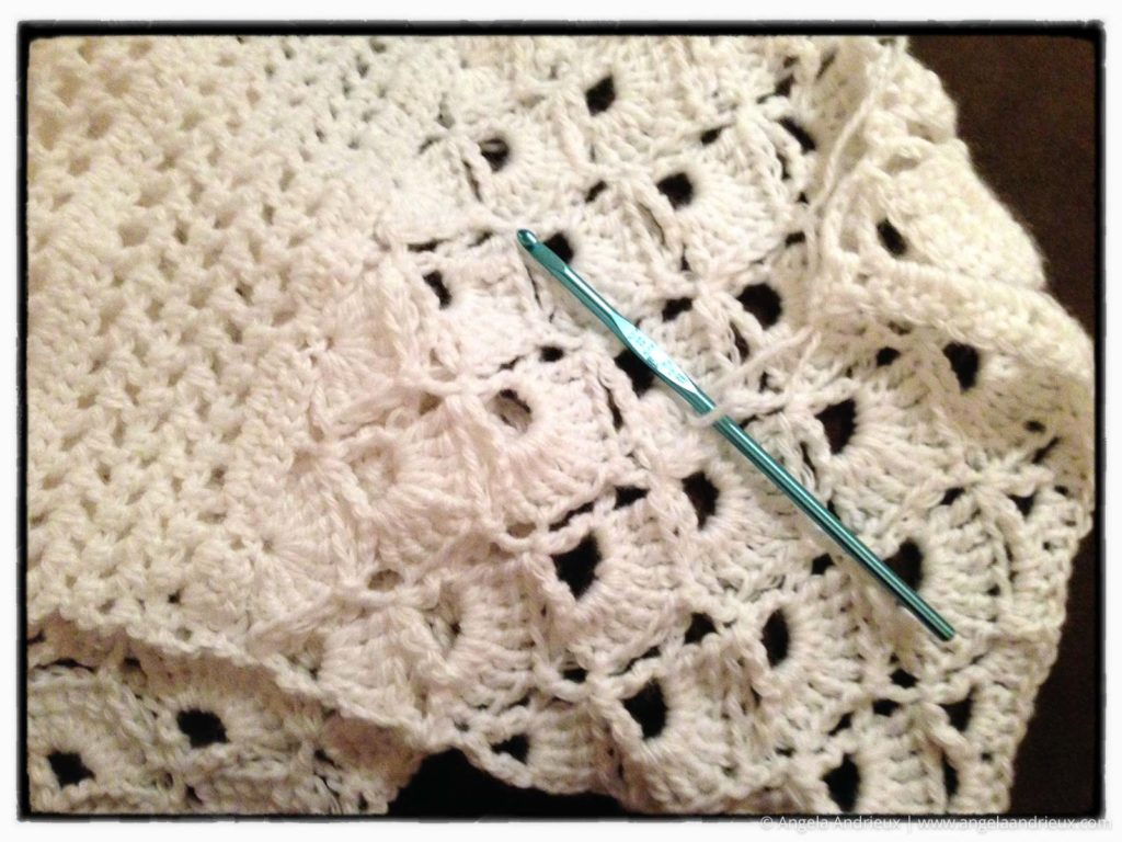 Crochet project progress