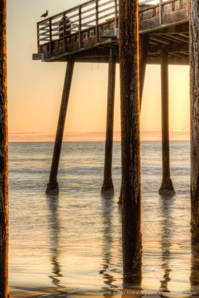 Pismo Beach Pier Sunset HDR