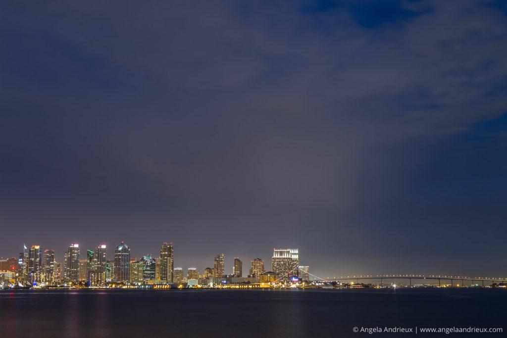 San Diego Skyline | Tungsten White Balance
