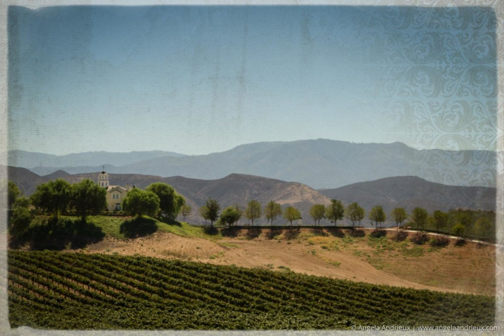 Tuscan scenery in the Temecula Valley