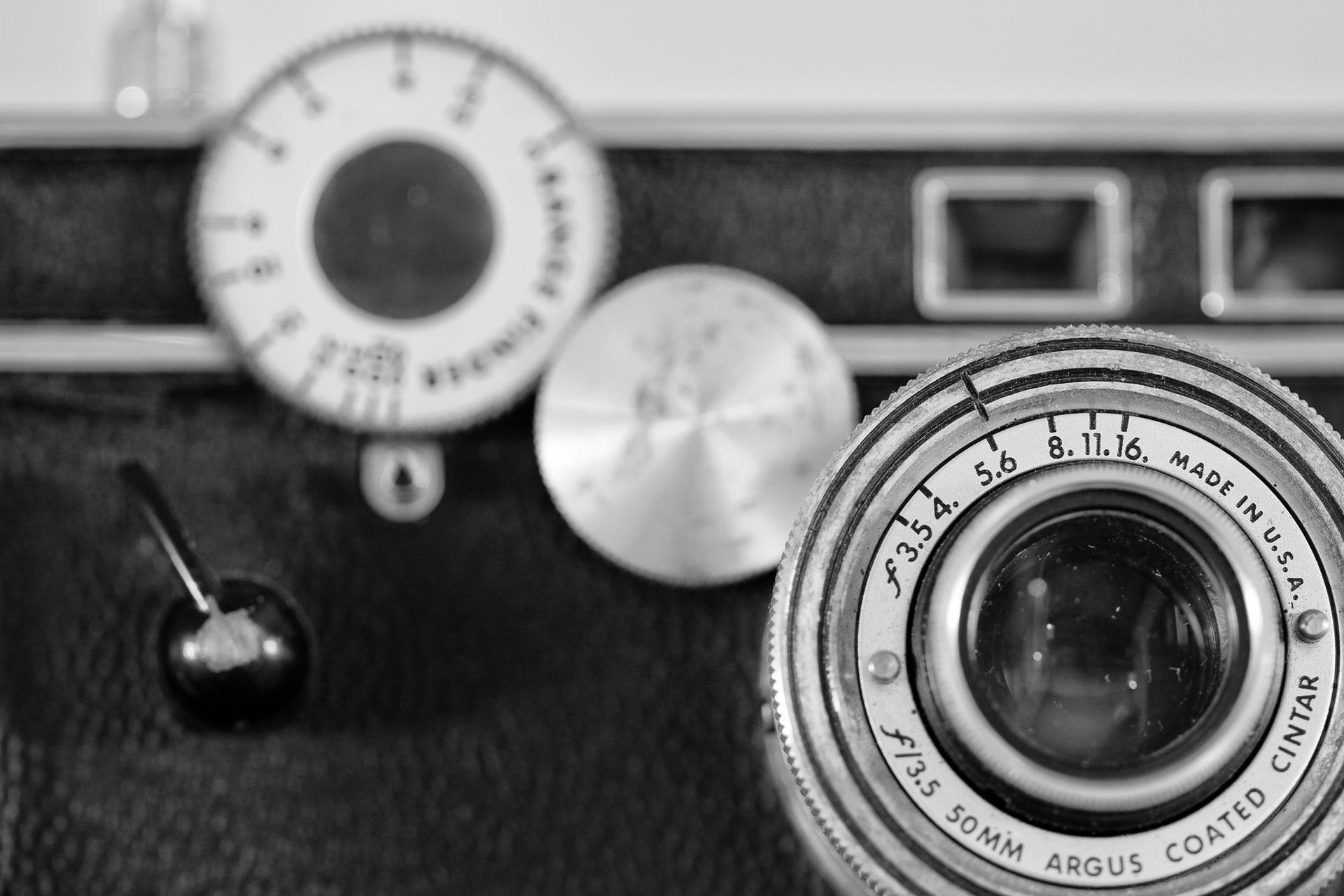 Vintage Argus Rangefinder Camera, aka | on 3 Ways a Photography Coach Cane Make You a Better Photographer
