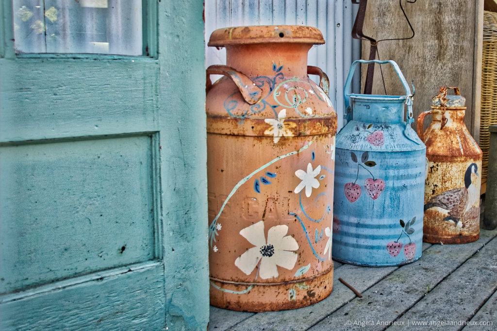 Antiquing in Moss Landing | Process with Luminar | A Touch of HDR preset