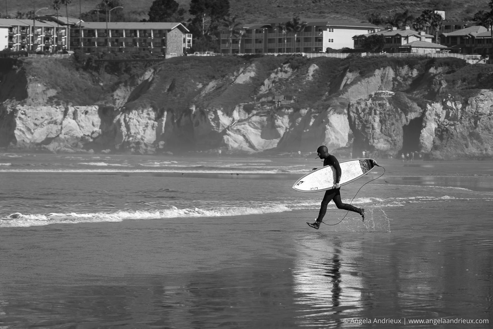 Surfer | Pismo Beach Street Photography