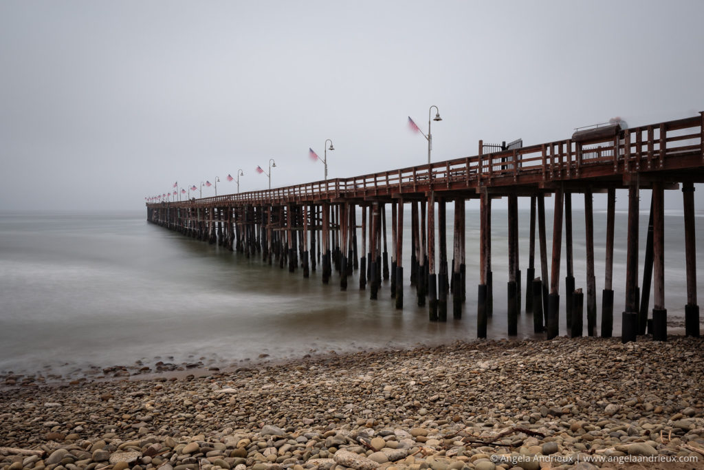 Long Exposure at the Ventura Pier on a foggy morning