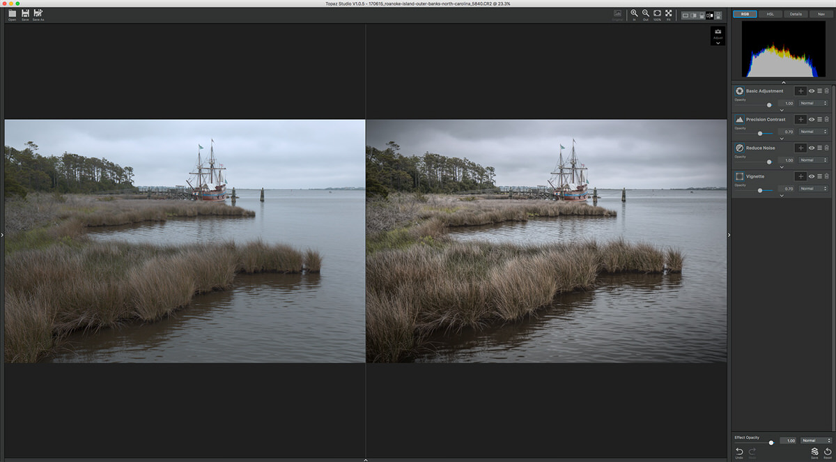 Before and After | Topaz Studio Review