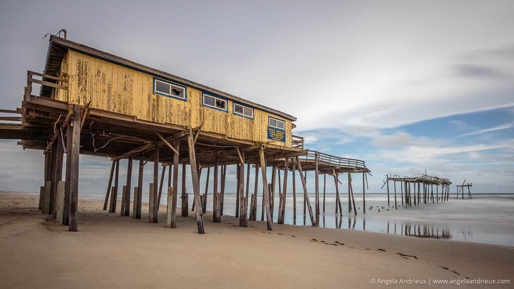 Abandoned Frisco Pier | North Carolina | Outer Banks