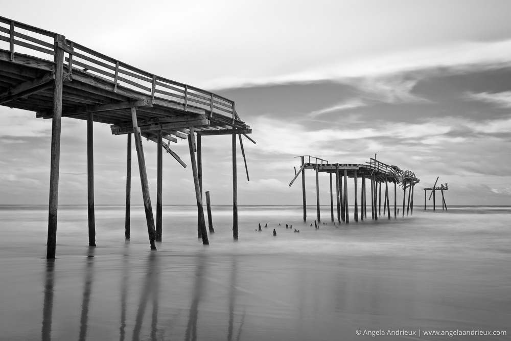 Abandoned Pier in Frisco | North Carolina | Outer Banks