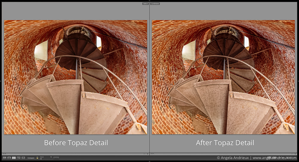Detail View: Before and After Topaz Detail