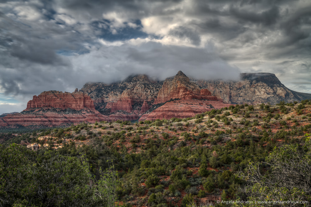 After the Storm | Sedona | Arizona | How to Photograph for HDR