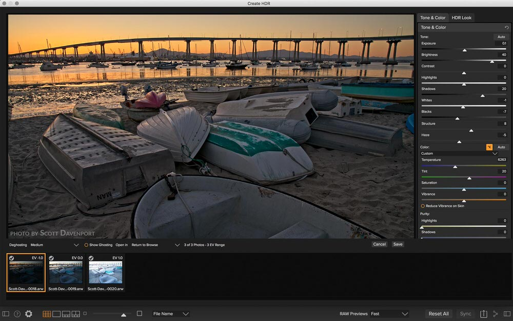 On1 Photo RAW 2018 - HDR
