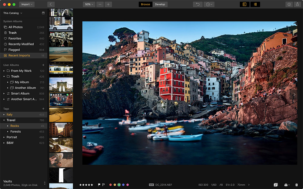 Luminar 2018 Digital Asset Manager Single Image Preview