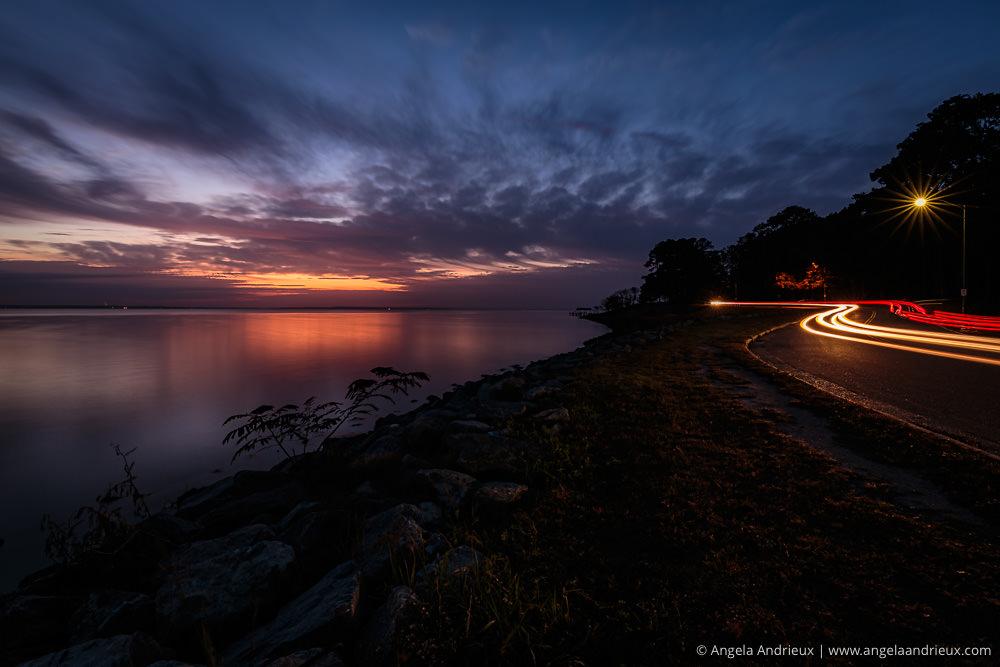 James River Light Trails | Newport News | Virginia