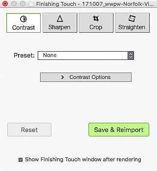 Photomatix Pro 6 Finishing Touches
