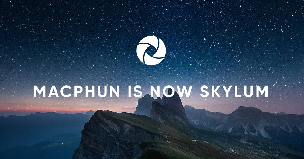Macphun is now Skylum