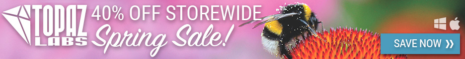 Topaz Spring Sale | 40% Off Storewide
