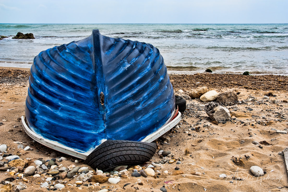 The Blue Boat (Sicily) | Topaz Adjust | Topaz Spring Sale